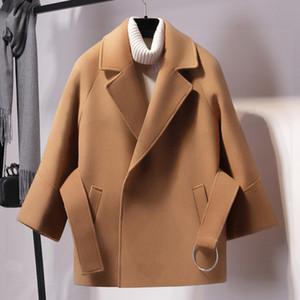 VANOVICH Winter Coat Women Woolen Coat 2018 Autumn Women Fashion Woolen Jacket Short Coats Female Outerwear Clothing