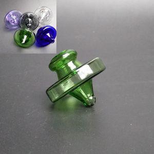UFO color cuarzo Banger burbuja de Carb del sombrero del casquillo de la bóveda del estilo por un cuarzo térmica Banger Nails Dabber para tubos de vidrio Bongs Dab plataformas petrolíferas Agua