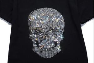T-Shirt Neue Mode Männer Frauen Marke T-Shirt 3d Kurzarm Druck Schädel T-Shirt für Männer Tops T-Shirts Freizeitkleidung