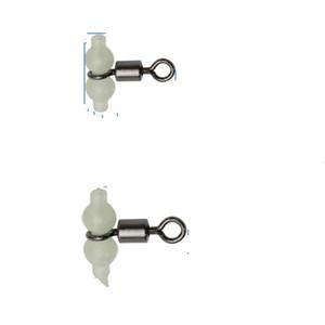 Klassische Noctilucan Swivel Solide Ringe 100 Stücke Angeln Stecker 8 Form Rig Meer Karpfenangeln Werkzeuge Kürbis Ring 0 2ls ii