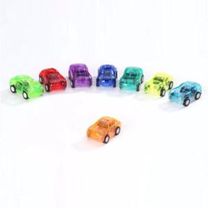 Şeker Renk Plastik Mini Cep Araba geri Çekin Araba Modeli Çocuklar araba Oyuncaklar Boys Için Eğitici En Iyi Noel Hediye için Çocuk
