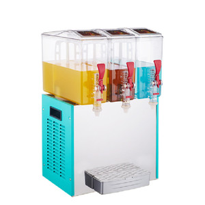 Qihang_top 10L * 3 três tanques Commercial Cold Drink Dispenser Machine / Suco Eléctrico Dispenser / frio que faz o sumo Hot Venda