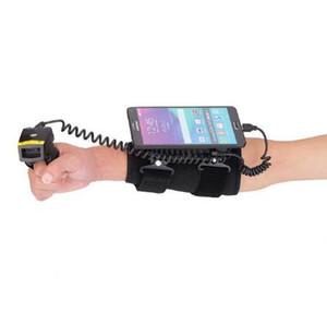 Mais novo Dedo Wired Barcode Scanner Laser Com Terminal de Dados Wearable WT01 + FS01 Compatível Com Android Windows Celular