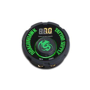 TATTOO POWER Fourniture numérique Écran LCD 2A Sortie Anti-Slip Base Dual Mode de travail Boîte d'alimentation avec cordon d'alimentation pour machine à tatouer P087