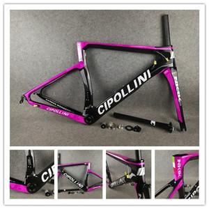 Rosa Cipollini NK1K lucide cornice Carbon Frame strada della bicicletta + fork + seatpost + clamp + auricolare XXS XS