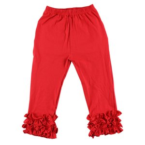 New Arrival Baby Girls Ruffle Leggings Children Cotton Soft Pants Spring and Autumn Kids Clothes