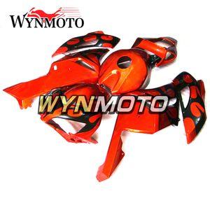 Personalizar Motocicleta Inyección ABS Carrocería de plástico para Honda CBR1000RR 2004 2005 CBR 1000RR 04 05 Kits de carenado Gloss Orange Black Body Kits