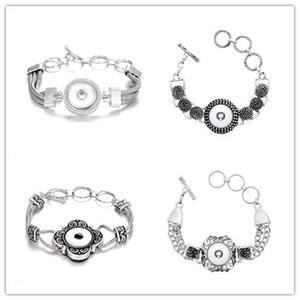 스냅 버튼 팔찌 18mm 버튼에 적합 누사 청크 스냅인 팔찌 Noosa Snap Jewelry for women