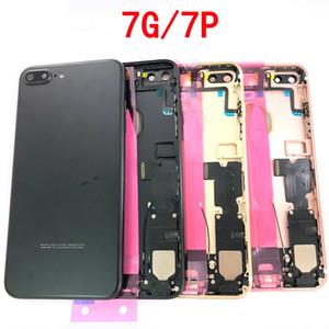 Für Apple iPhone 7plus Full Back Gehäuse Batterieabdeckung Rear Door Case Chassis mit Flex-Kabel für iPhone 7 Plus Gehäuse