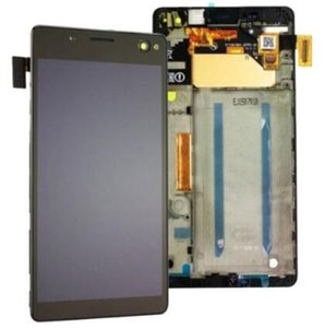 Оригинал Для Sony Xperia C4 E5306 E5333 ЖК-Дигитайзер Сенсорный Экран Дисплей Замена С Рамкой