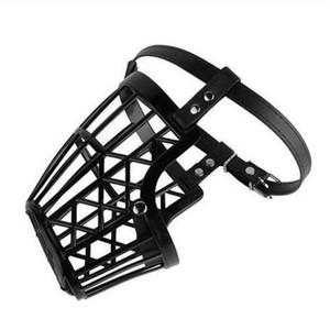 2020 commerci all'ingrosso cane forte museruola cestino bocca anti-mordace cane cinghie regolabili maschera addestramento del cane obbedienza
