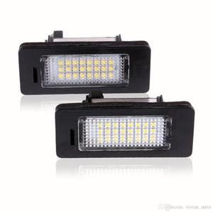 Fácil instalación LED Luces de la placa de matrícula SMD3528 6000K Luz de la placa de matrícula para BMW E82 E88 E90 E92 E93 E39 E60 Sedan M5 E70 X5 E71 E72 X6
