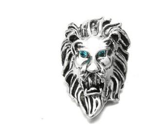 Hediye için sıcak satış 2019 yeni aslan 20 adet / grup DIY retro müthiş 18mm noosa charm snap düğmesi takı yapış charm takı aksesuarları fit bilezik