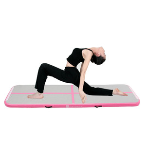 Best selling home training equipment used mini inflatable air tumble track Gymnastic Mat for Yoga & Pilates