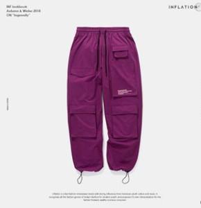 Осень Новый Мультифункциональный мужские брюки Спортивные штаны Регулируемое голеностопного Брюки Брюки Csual Стиль Человек Мода