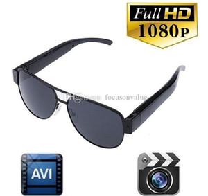 كامل 1080P HD نظارات شمسية نظارات رياضية DVR صوت مسجل فيديو نظارات نظارات ذات الثقب كاميرا صغيرة محمولة DV مع صندوق البيع بالتجزئة