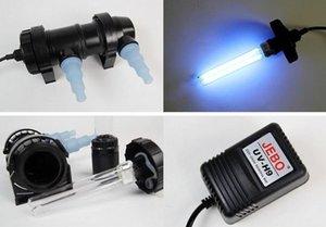 Jebo Aquarium UV Sterilizzatore per acqua Sterilizzatore Wattage Cleaner Ultraviolet Koi Clarifier Lampada 5W ~ 36W filtro Pond Coral per serbatoio di pesce JXXPE