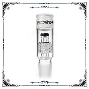 Accesorio Glass adaptador de matriz perc en forma # 34 percolador estándar hembra macho tamaño de la junta de vidrio para agua de fumar vidrio tubos bongs accesorios