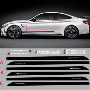 205 CM 80.7 pulgadas M RENDIMIENTO Pegatinas laterales de la carrocería para BMW X1 X3 M3 M5 Series Pegatinas personalizadas Car Styling