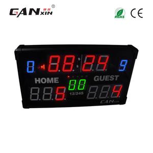 GANXIN LED Çetele Basketbol Beyzbol, Badminton Ayak için Dahil Uzaktan Kumanda ile Çok spor Masa Kapalı Elektronik Scoreboard