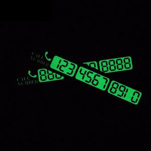 بطاقة وقوف مؤقتة رقم بطاقة رقم لوحة السيارة المضيئة ل فورد فوكس 2 3 فولكس واجن بولو vw mazda chevrolet cruze