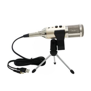 MK-F500TL Studio Microphone USB Recenseer Sound Recording أضف Stand free driver for Mobile Phone Computer Update MK-F200TL