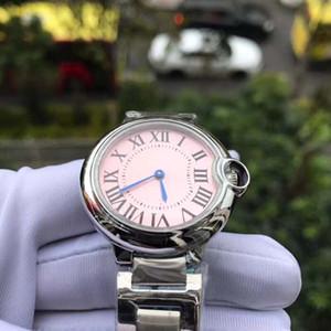 Moda 2018 Casual Saatler Kadınlar 33mm Paslanmaz Çelik Kayış Marka Saatler kuvars Watchwrist Big Bang Saatı Kadın C # 316 satış