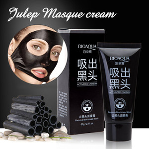 Echootime BIOAQUA Face Skin Care Suction Black Mask Nose Blackhead Remover Acne Treatment Mask Peeling Peel off Black Head Mud Facial Mask