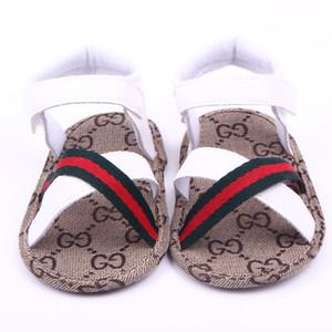 Baby-Jungen-Sommer-weiche Schuhe Ledersandalen Kind Jungen Solide Prewalker weiche Sohle PU-Leder-Schuhe 0-18Months