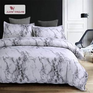 Slowdream 3D Bedding Set Stone Pattern Bedspread Duvet Cover Pillow Cases Comforter AUDouble King Adult Bed Linen Set Bedclothes