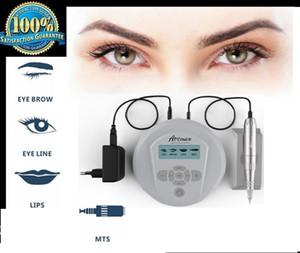 Artmex V6 Kalıcı Makyaj Dövme Makinesi LCD Ekran Kaşları Göz kapakları Dudaklar Kalem Elektrik DermaPen Oto Microneedle Sistemi
