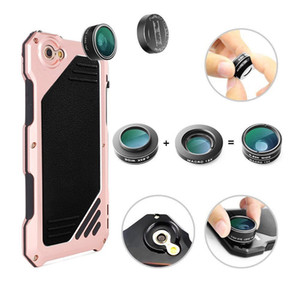 New Lens Shell Phone for Wide-angle 7 Protective 3 Case Lens Phone Mobile External Camera Lens iPhone Separate Macro Fisheye Back with Cmxl