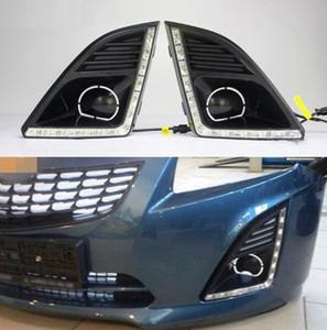 DRL Per Chevrolet Cruze 2013 2014 2015 Daytime Running Lights fendinebbia fari 12V Daylight per Chevy