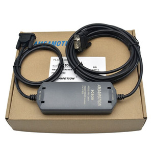 Amsamotion S7-200 Programmierkabel PC-PPI + Adapter kompatibel Siemens 6ES7901-3CB30-0XA0 Download-Line-Isolation Typ 232-Schnittstelle
