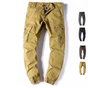 Мода повседневные брюки мужские брюки-карго Большой размер Мужчины шаровары Военные Tide Wtaps конвергентное Конкретизируйте Cut днищ