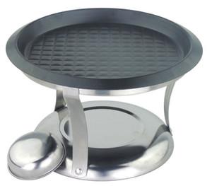 Tragbarer Außengrillofen mit Antihaftaluminiumlegierung Grillpfanne 057