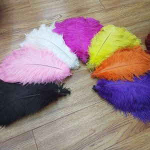страусовые перья свадьба украшение танцор украшение 20-25см для 30-35 см поставок ремесла свадьбы партии конфеты цветов высокого качества