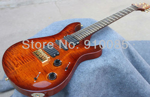 Hot Sale Wholesale 513 BLACK GOLD WRAP 10 TOP ...- Electric Guitar New Arrive Free Shipping