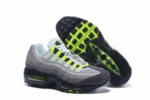 Fashion ria Cushion 95 Runner ShOes Para hombre Sports Negro Blanco Womens Trainers Sneakers Fashion athletic Walking trainING shOes