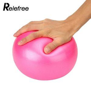 25cm Mini Yoga Ball Fitness Fitness Geburt Stabilitäts Balance Hülsen Pilates
