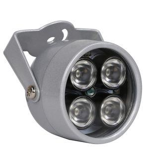 تأتي تضيء السيارات cctv المصابيح 4 مجموعة ir led المنور ضوء الأشعة تحت الحمراء للرؤية الليلية للماء cctv ملء ضوء ل كاميرا cctv ip