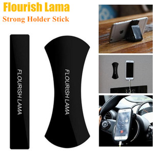 2 PZ Flourish Lama Potente Strong Holder Stick Colla Wall Sticker Anywhere Antiscivolo Lavabile Ripetutamente Auto Mobile Phone Staffa