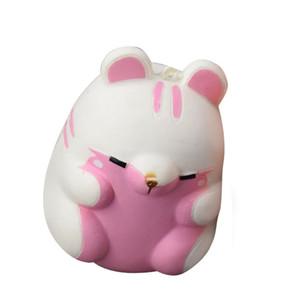 Fun Autisme jouets Hamster Squishy Décor Slow Rising Kid Jouet Squeeze Soulager Anxiet Cadeau Jouets pour enfants adultes Gadgets