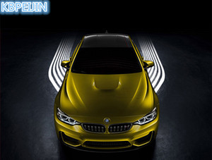 Car Styling Car Angel Wings Lights LED Benvenuto Proiettore luce per Audi A4 A3 Q5 Q7 A5 B6 B8 A6 C5 B7 C6 A8 TT Accessori