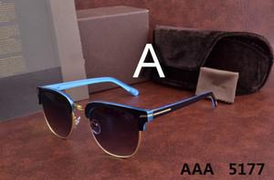 Luxuxoberster qualtiy 2018 neue Mode-5177 Tom-Sonnenbrille für Mann-Frau Erika Eyewear ford Designer-Marken-Sonnenbrille mit ursprünglichem Kasten