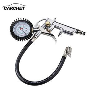 Universal neumático del Con manómetro de presión de aire para inflar con aire Pistola Para Auto-Camión Motocicleta diagnóstico herramienta
