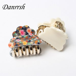 4cm Small Acrylic Hair Claw Women High-quality  Hair Clip Fashion Accessories Elegant Ornament