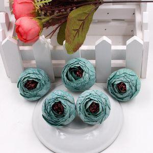 Yeni Tasarım 50 adet Bahar Ipek Çay Bud Yapay Çiçek Düğün Ev Dekorasyon Kamelya Mariage Flores Satmen Çiçekler Bitkiler