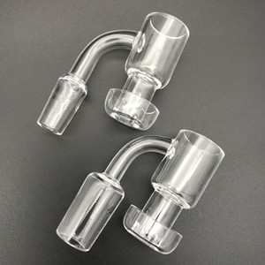 Top qualité fait à la main Terp Vacuum Quartz Banger Domeless Terp Slurper Jusqu'à Oil Banger Nail avec Seau 25mm En Bas