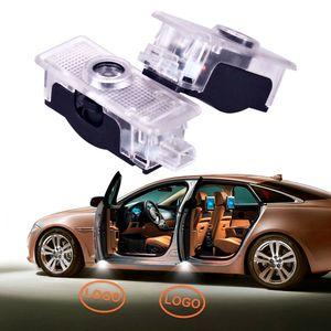 2xGhost 섀도우 라이트 LED 프로젝터 환영 메르세데스 벤츠 AMG CLA Class C117 CLA200 CLA220 CLA260 CLA45 용 램프